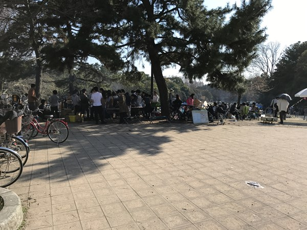 服部緑地公園バーベキューBBQ