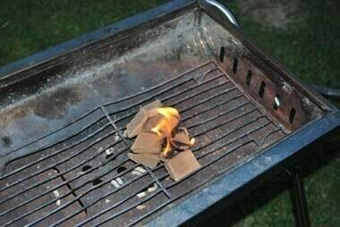 BBQの火おこしに最適なチャコスタ