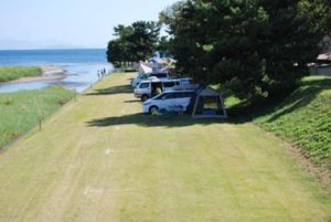 知内浜オートキャンプ場
