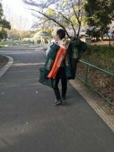 服部緑地公園BBQ