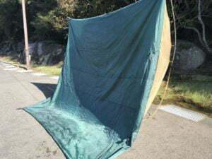 テントの底