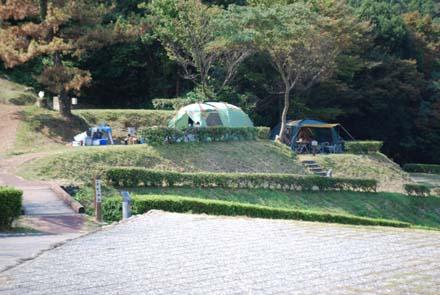 日本海でキャンプとエギング