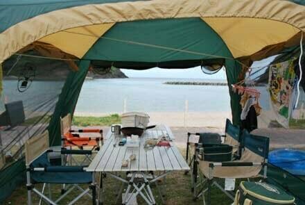 小波キャンプ場サイト