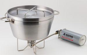 SOTO ST-330 ステンレスダッチオーブン