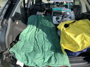 キャンプ車中泊