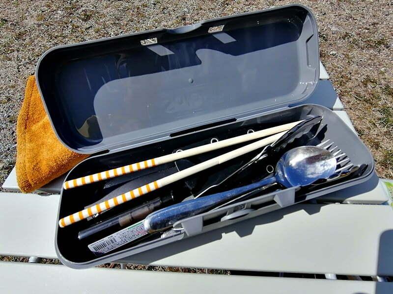 キャンプ用菜箸