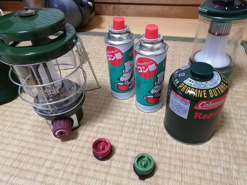 OD缶からCB缶変換ランタン