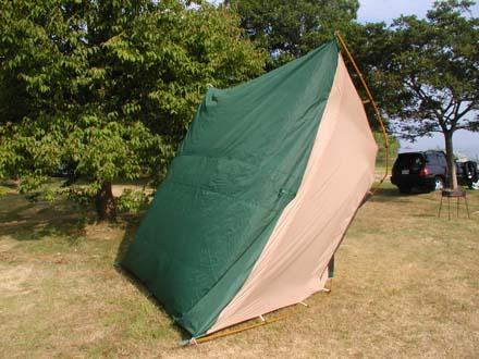 テントの底の湿気